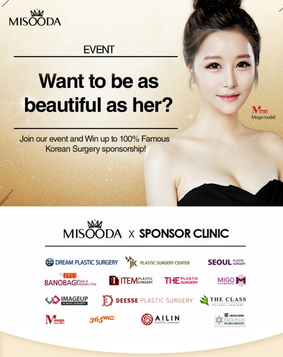 MISOODA Event: Korean Surgery Sponsorship